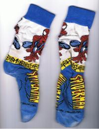 Spiderman_socks
